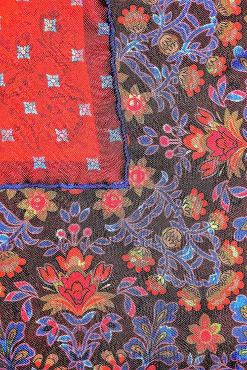 motif pochette de costume colorée Calabrese 1924