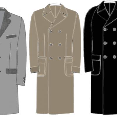 large éventail date de sortie meilleur authentique Comment bien choisir votre manteau homme sur mesure ...