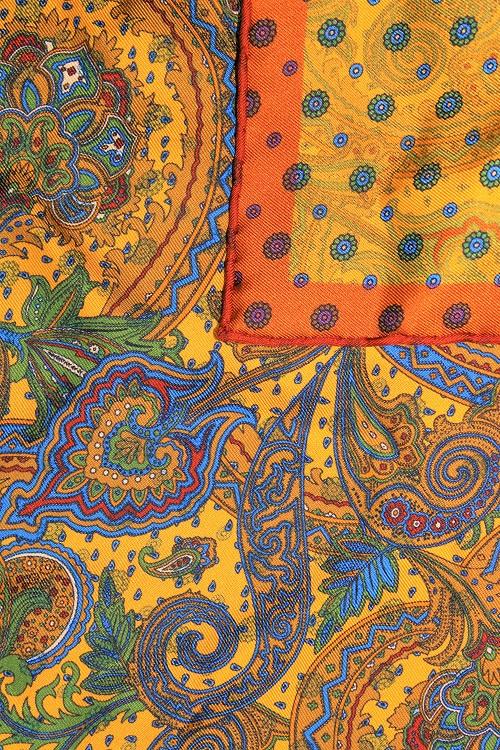motif oriental, pochette de costume orientale, Calabrese 1924
