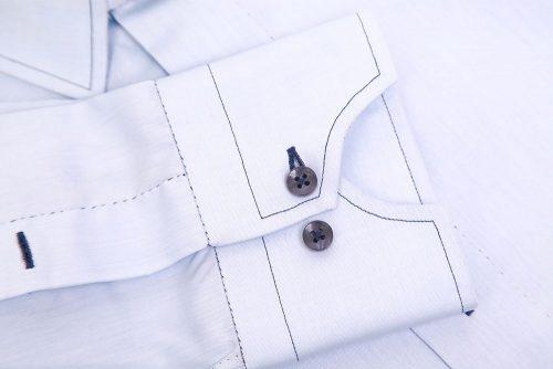 chemise homme, détails chemise, cousu main, chemise cousue main, atelier clotilde ranno, clotilde ranno