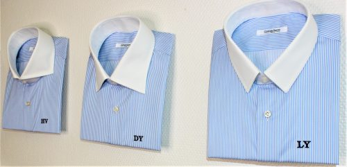 chemise homme, cols de chemises, atelier clotilde ranno, clotilde ranno