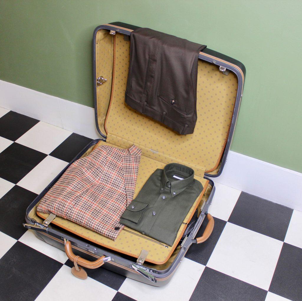 veste en tweed, veste sur mesure en tweed, veste entièrement entoilée, veste full canvas
