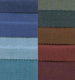 tissus de couleurs