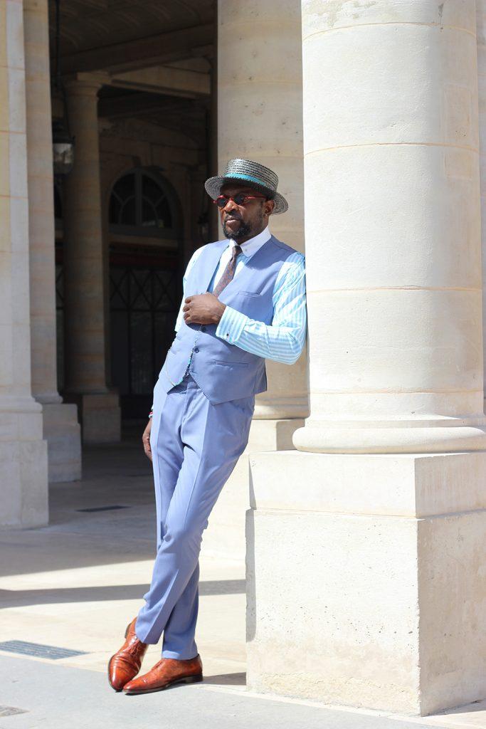costume bleu, costume bleu homme, costume sur mesure, costume bleu sur mesure, costume homme sur mesure, costume bleu homme sur mesure, atelier clotilde ranno, clotilde ranno