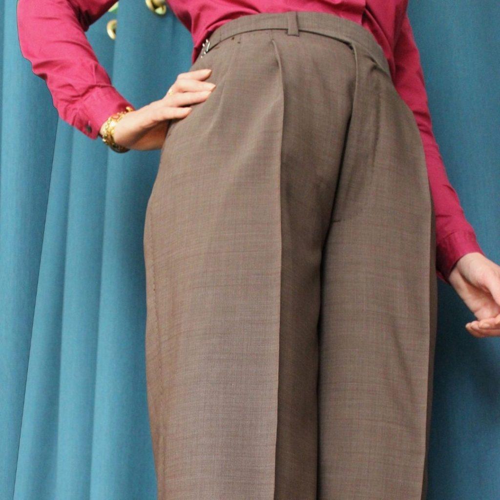 pantalon femme sur mesure, pantalon sur mesure, pantalon sur mesure femme, clotilde ranno, atelier clotilde ranno
