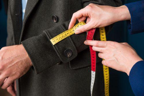 manteau sur mesure